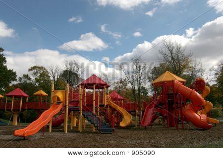 Herbst-Spielplatz