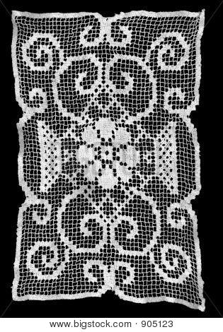 Victorian White Lace Pattern