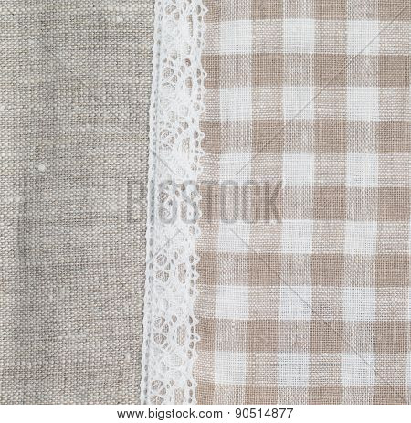 natural linen texture for the background