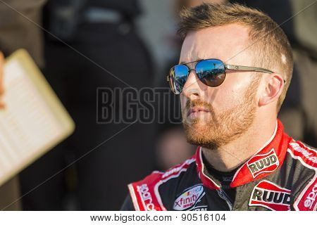 Richmond, VA - Apr 24, 2015:  Austin Dillon (3) prepares for practice for the ToyotaCare 250 race at the Richmond International Raceway in Richmond, VA.