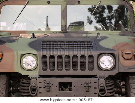 Powerful Army Off Road Vehicle