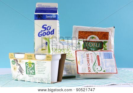 Group Of Non-dairy Food Products
