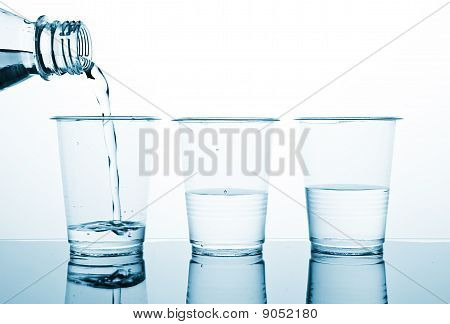 Three Portion Of Water