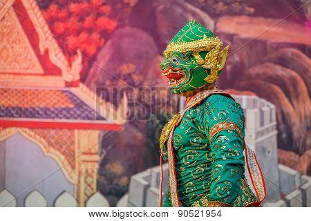 Khon - Thai Traditional Mask Dance