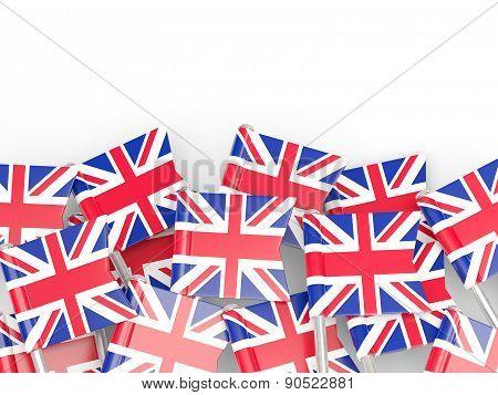 Flag Pin Of United Kingdom