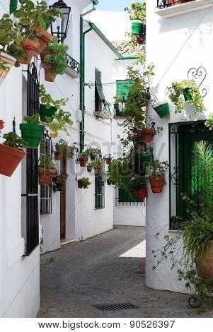 Village street, Priego de Cordoba.