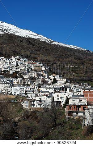 White town, Trevelez.