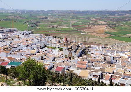 White town, Teba.