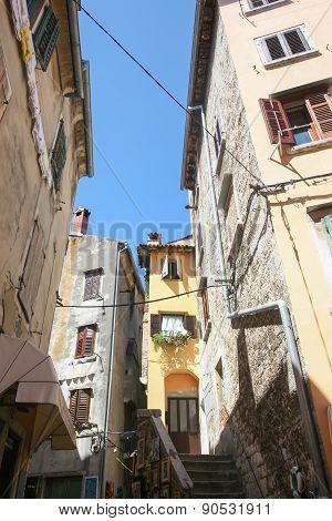 Old Houses In Rovinj