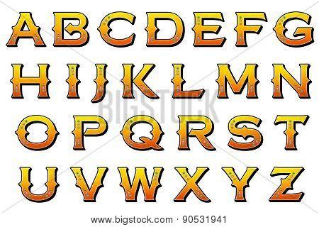 Carnival Alphabet