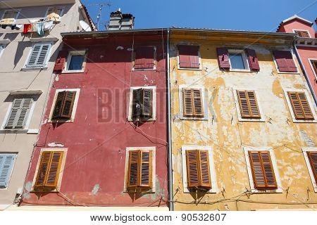 Buildings In Rovinj