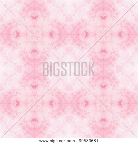 Seamless Mosaic Pattern Or Background In Pastel Spectrum