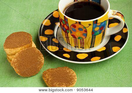 Shortbread Cookies And Espresso