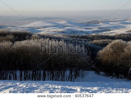 Winter In Crimean Mountains