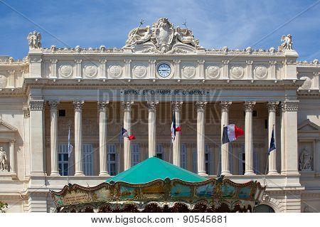Bourse Et Chambre De Commerce. Marseille,france