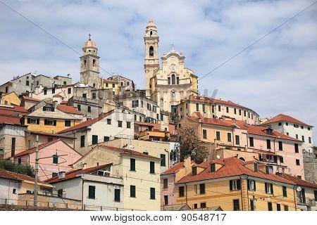 ancient Italian town of Cervo