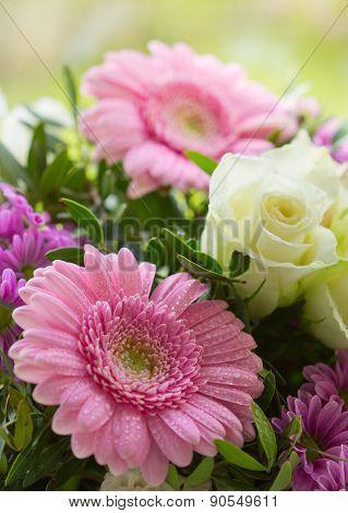 Flowers Bouquet .
