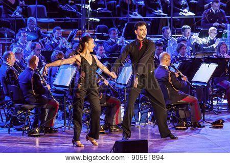 Ballet Giusy Versace and Raimondo Todaro