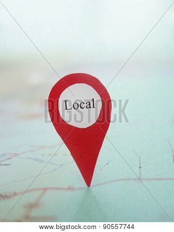 Map Locator Local