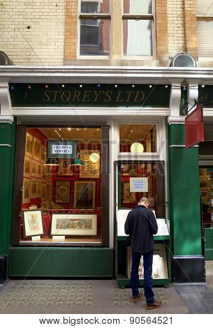 Cecil Court Print Shop