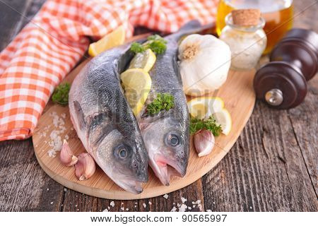 raw fish on board