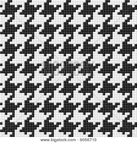 Houndstooth pattern. Seamless illustration.