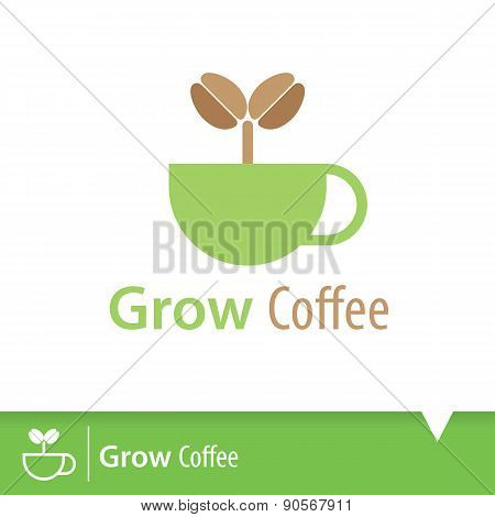 Grow Coffee Icon