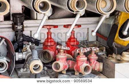 Tools Of Firefighters To Fire Off