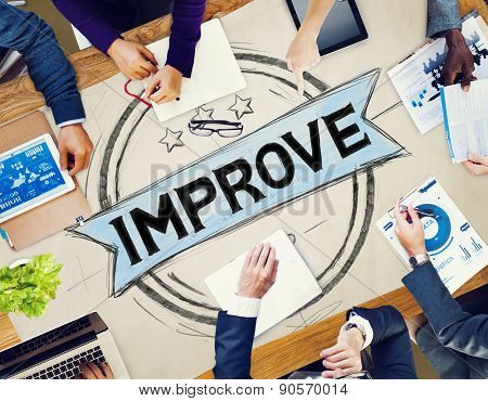 Improve Innovation Motivation Progress Reform Concept