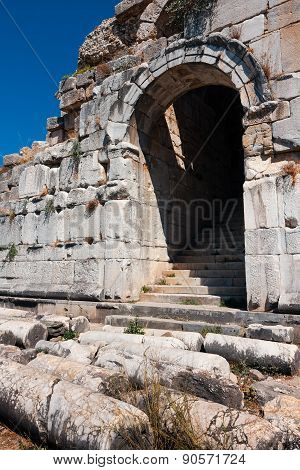 Miletus Theater Entrance