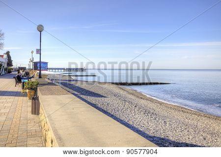 Black Sea Coast. Morning