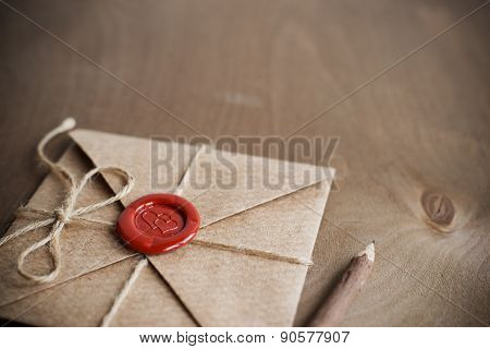 Love Letter and pencil