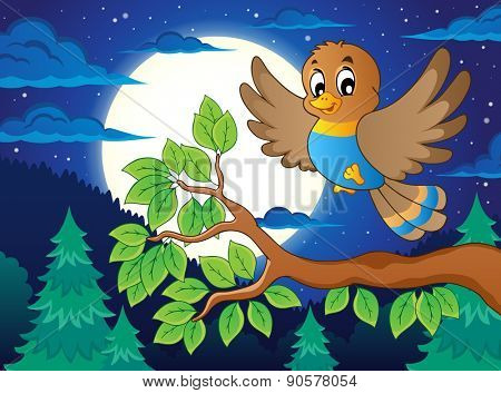 Bird topic image 5 - eps10 vector illustration.