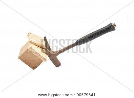 Claw Hammer On Wood