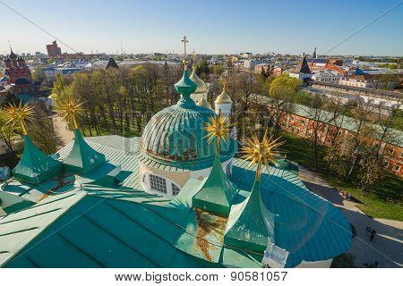 Spasskiy monastery roofes