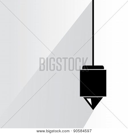 vertical plumb scale
