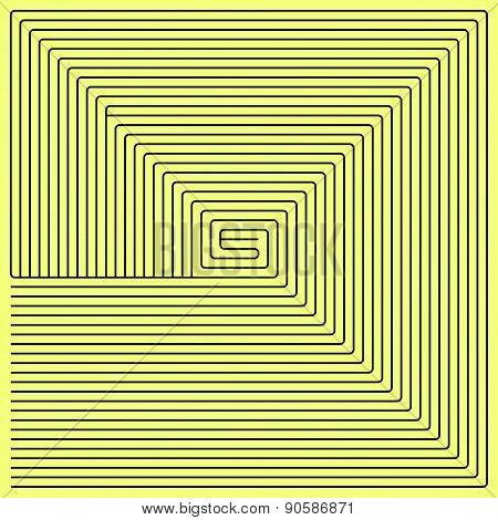 Black Square Maze (50X50)