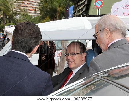 Prince Albert II at EVER Monaco 2015, International meetings on Ecological Vehicles