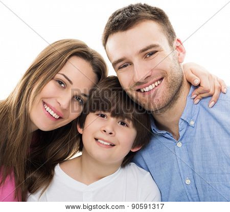 Family with son