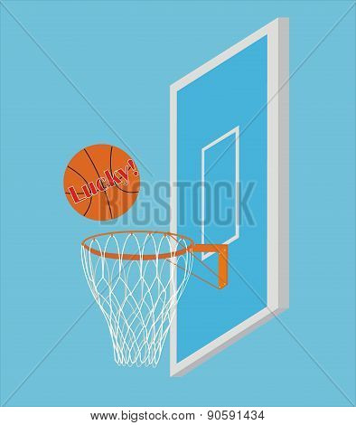Vector Basketball Scoring Points
