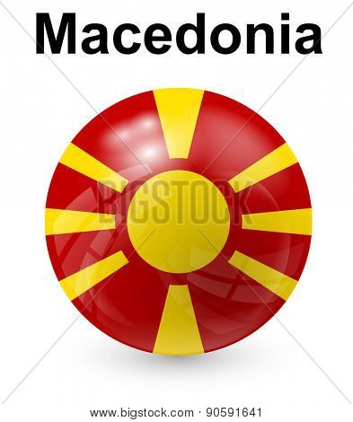 macedonia official state flag