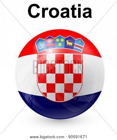 croatia official state flag