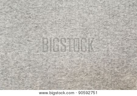Gray Striped Jersey Fabric Texture
