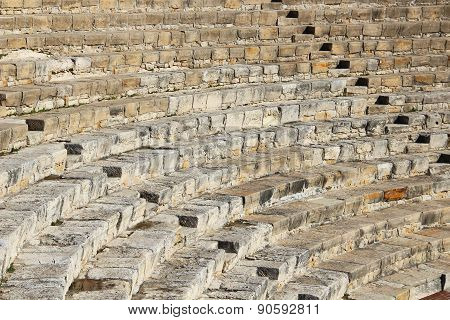 Theater Of Kourion, Cyprus