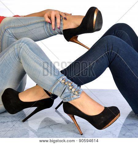 Interweaving Of Two Women