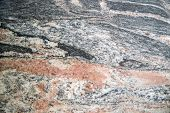 pic of slab  - Presentation section of a slab of marble colored - JPG