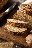 pic of whole-wheat  - Organic Homemade Whole Wheat Bread Ready to Eat - JPG