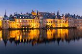 stock photo of prime-minister  - Binnenhof palace - JPG