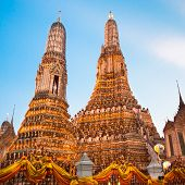 picture of south east asia  - Wat Arun Temple in Bangkok - JPG