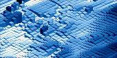 stock photo of isometric  - Infographic Isometric  Graph - JPG
